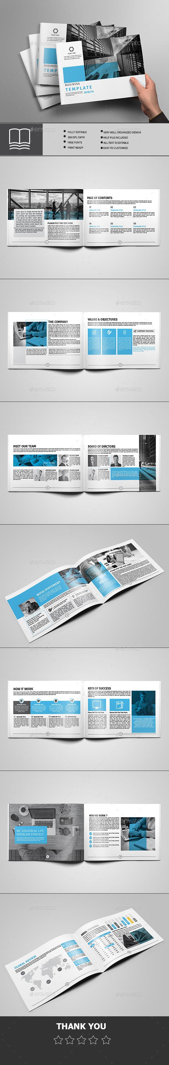 Brochure 16 Page - Brochures Print Templates