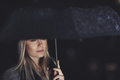 Beautiful sad woman under the rain - PhotoDune Item for Sale