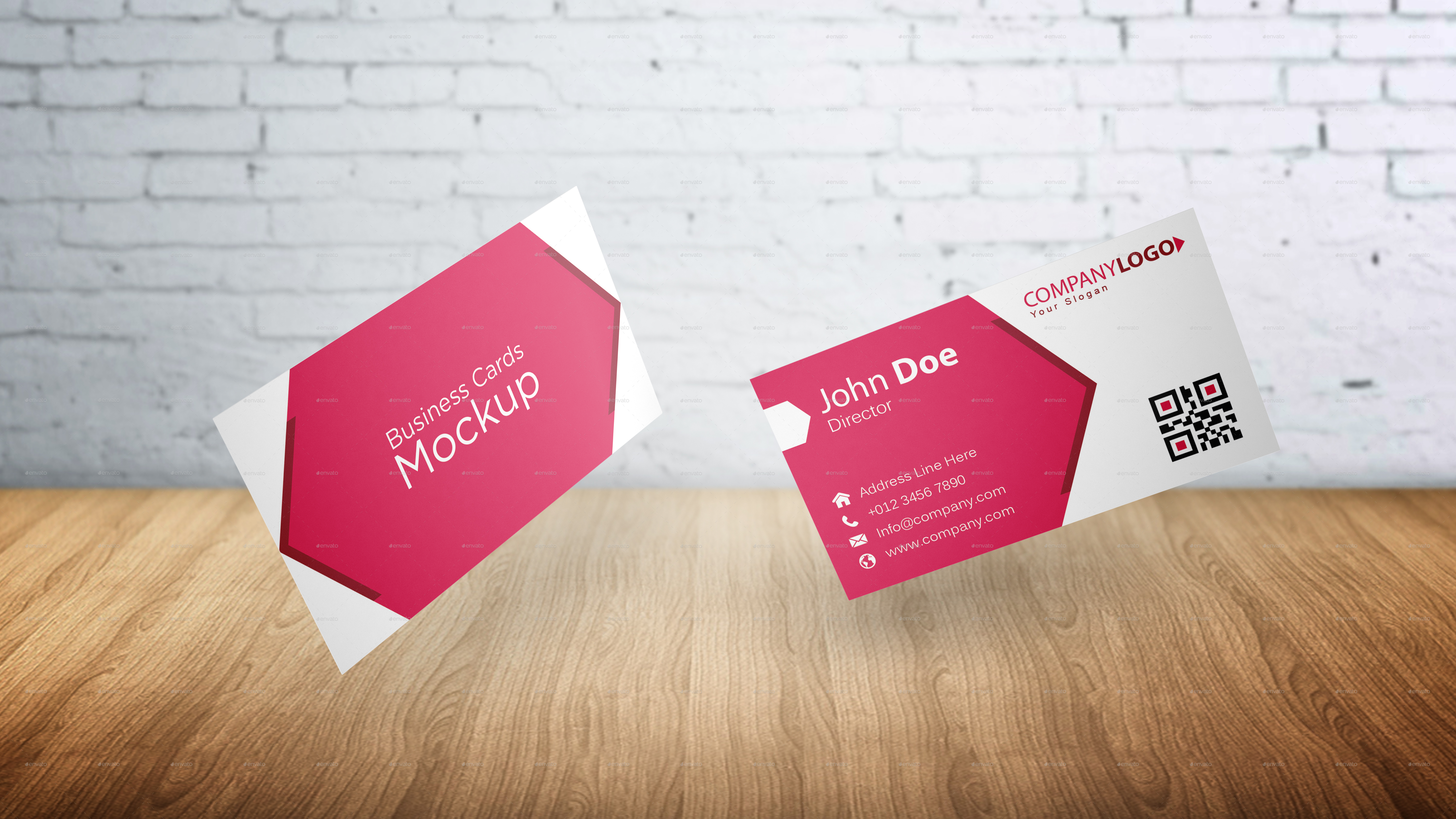 Business Card Mockup by graphicdesigno | GraphicRiver