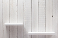 white shelf on wooden wall - PhotoDune Item for Sale