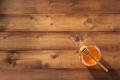 glass jar of honey on wood - PhotoDune Item for Sale