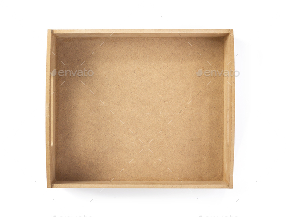 box isolated on white - Stock Photo - Images