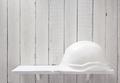 construction helmet on shelf - PhotoDune Item for Sale