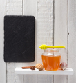 glass jar of honey on wooden shelf - PhotoDune Item for Sale