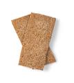 crispy bread isolated on white - PhotoDune Item for Sale