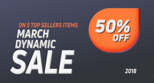 March Dynamic Sale