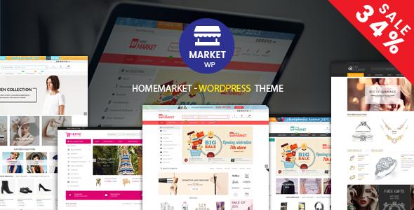 HomeMarket - eCommerce WP Theme for WooCommerce - WooCommerce eCommerce