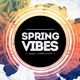 Spring Vibes CD Cover Artwork - GraphicRiver Item for Sale