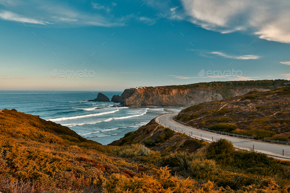 Portugal Coast - Stock Photo - Images