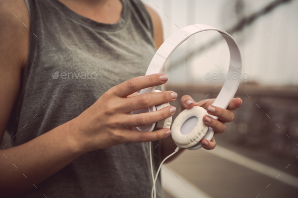 Music to run - Stock Photo - Images