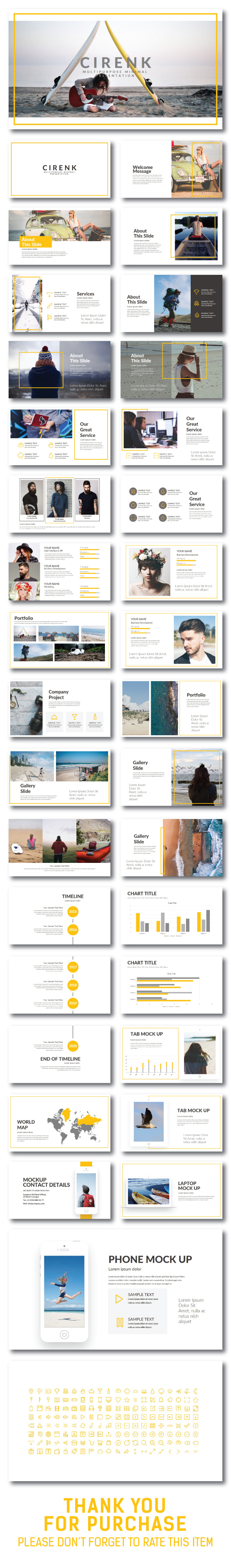 Cirenk Presentation Template - Creative PowerPoint Templates