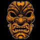 Samurai Mask Vector - GraphicRiver Item for Sale