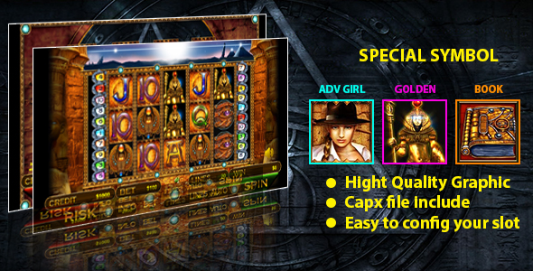 Golden Ark Slot - CodeCanyon Item for Sale