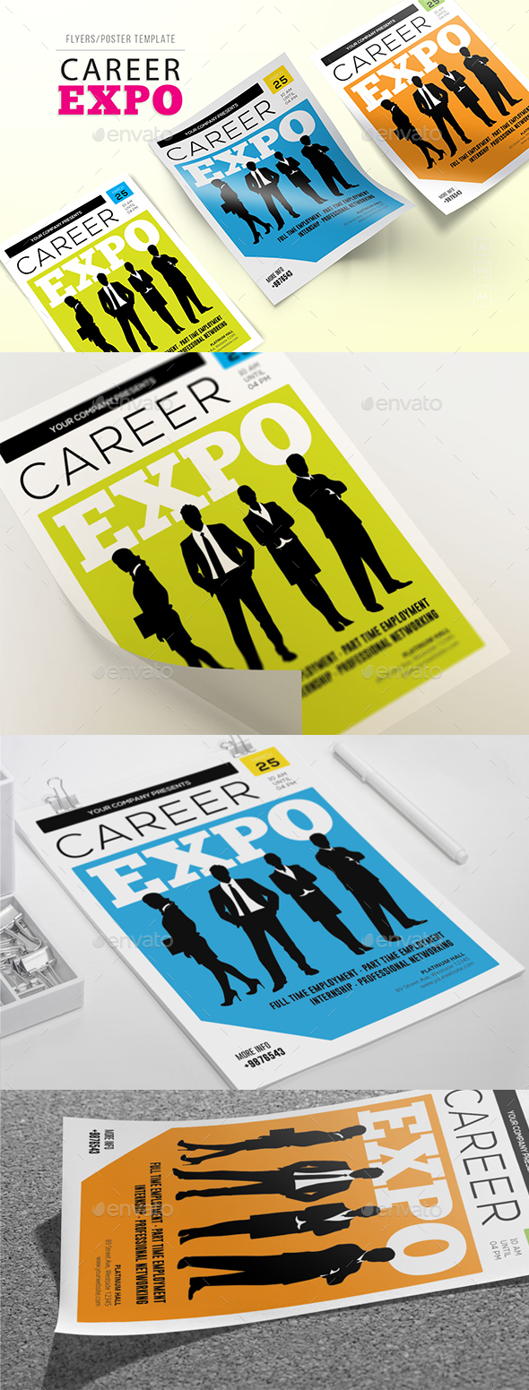 Career Expo Flyers - Corporate Flyers