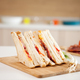 Club sandwich with white bread - PhotoDune Item for Sale