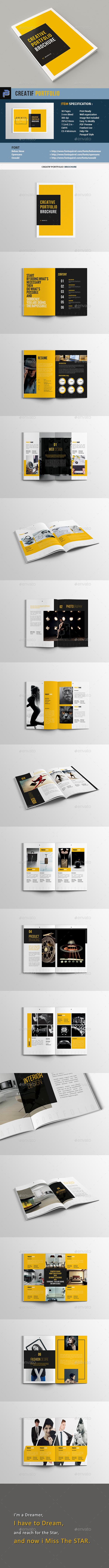 Creatif Portfolio - Portfolio Brochures
