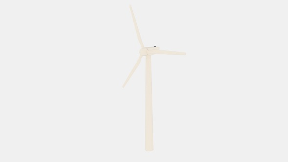 Wind 450KW Turbine - 3DOcean Item for Sale