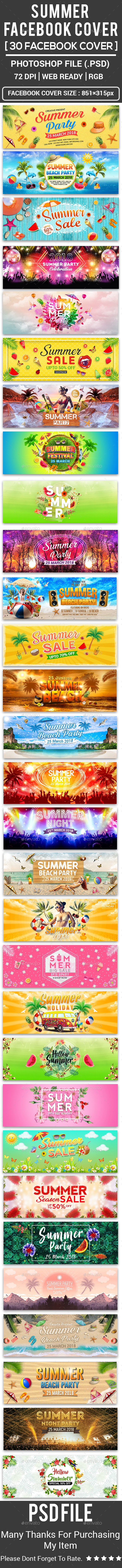 Summer Facebook Cover - Facebook Timeline Covers Social Media