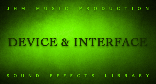 Device & Interface Sounds Library