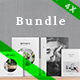 4 Unique Multipurpose Portfolios Bundle - GraphicRiver Item for Sale