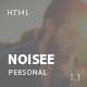 Noisee - Personal / CV / Resume HTML Template - ThemeForest Item for Sale