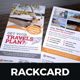 Travel Postcard Rackcard DL Flyer Design v2 - GraphicRiver Item for Sale