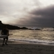 Running Sea Kayakers In A Storm Tracking Shot In - VideoHive Item for Sale