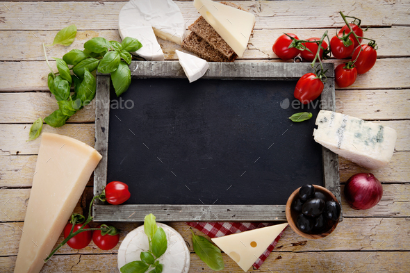 Cheese variety - Stock Photo - Images