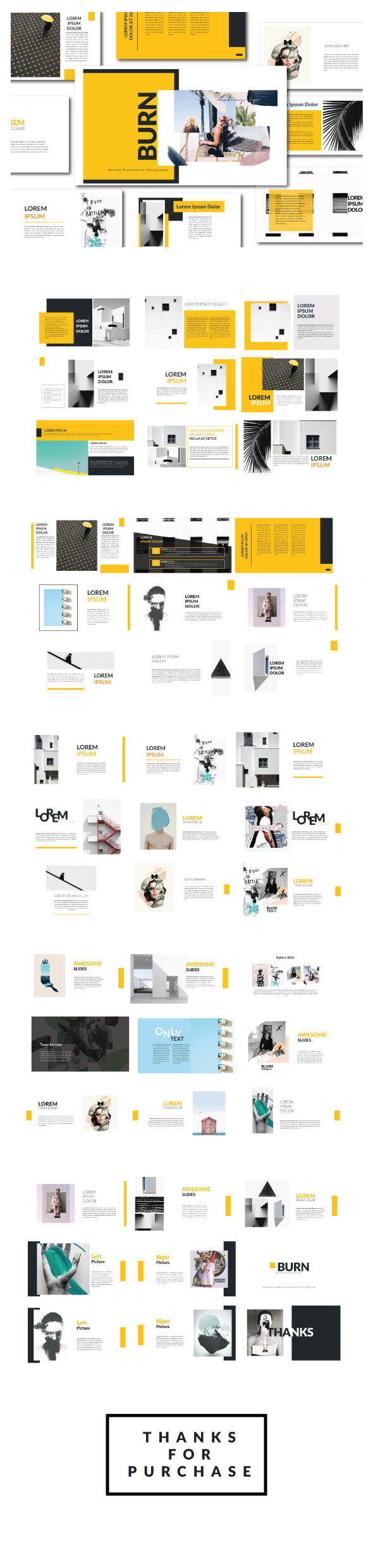 Creative Agancy Keynote - Creative Keynote Templates