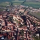 Flight Over Old Town Centre of Mikulov, Czech Republic. - VideoHive Item for Sale