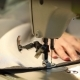 Woman Working at a Sewing Machine, Needle Sewing Machine, Female Hands - VideoHive Item for Sale