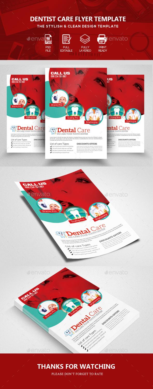 Dentist Flyer Template - Commerce Flyers