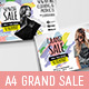 Grand Sale Advertisement Templates - GraphicRiver Item for Sale