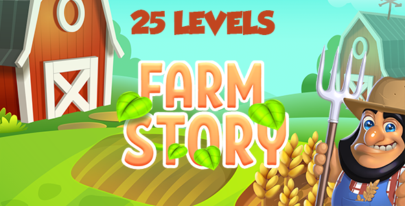 Farm Story HTML5 Game [ 25 levels ] - CodeCanyon Item for Sale