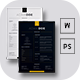 2 Resume Template & 2 Business Card - GraphicRiver Item for Sale