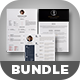 3 Cv/Resume Template Bundle - GraphicRiver Item for Sale