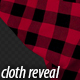 Red Plaid Cloth Reveal 04 - VideoHive Item for Sale