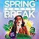 Spring Break Party Flyer - GraphicRiver Item for Sale