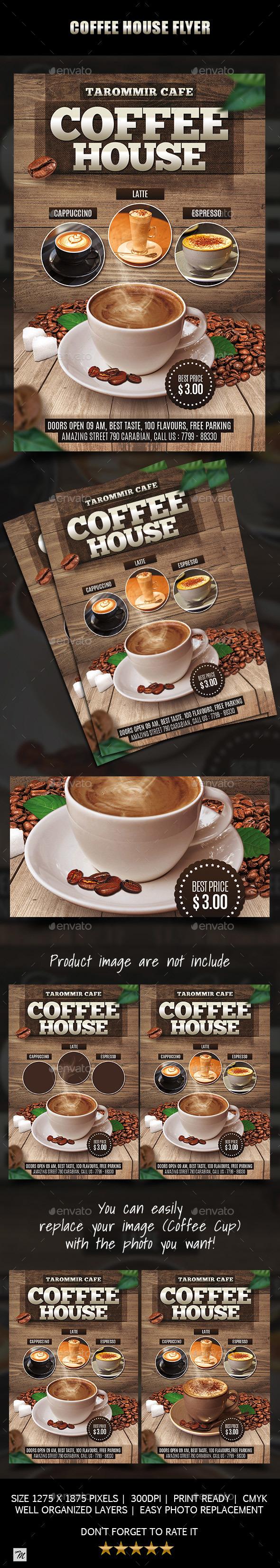 Coffee House Flyer - Restaurant Flyers