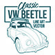 Classic Beetle Line Art - GraphicRiver Item for Sale