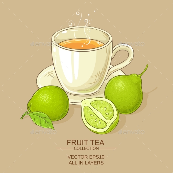 Cup of Bergamot Tea - Food Objects