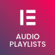 MP3 Audio Player Playlists for Elementor Page Builder
