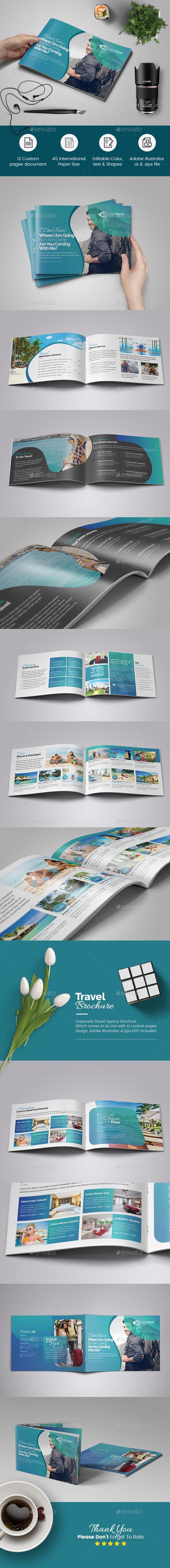 Travel Agency Brochure - Corporate Brochures