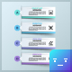 Modern Infographic Ribbons Template - GraphicRiver Item for Sale