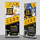 Construction Business Roll-Up Banner Template