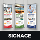 Roll up Banner Signage Design - GraphicRiver Item for Sale