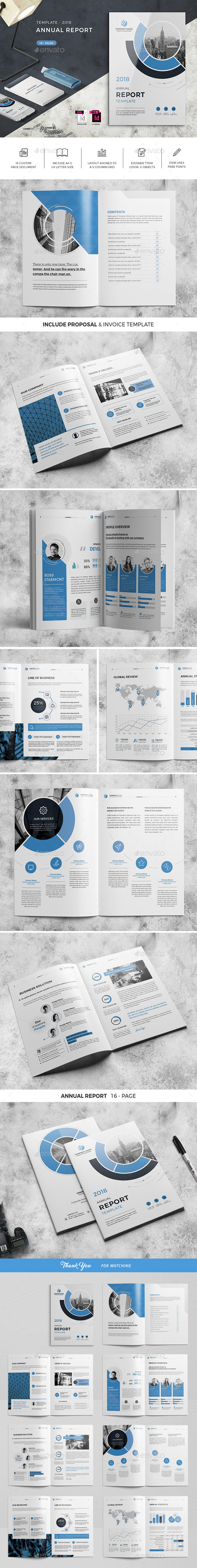 Annual Report Template 02 - Corporate Brochures