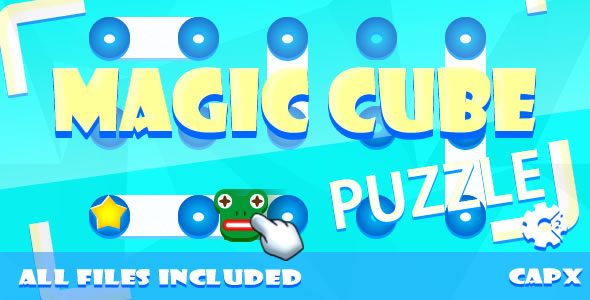 Magic Cube - Puzzle (CAPX & HTML) Game - CodeCanyon Item for Sale