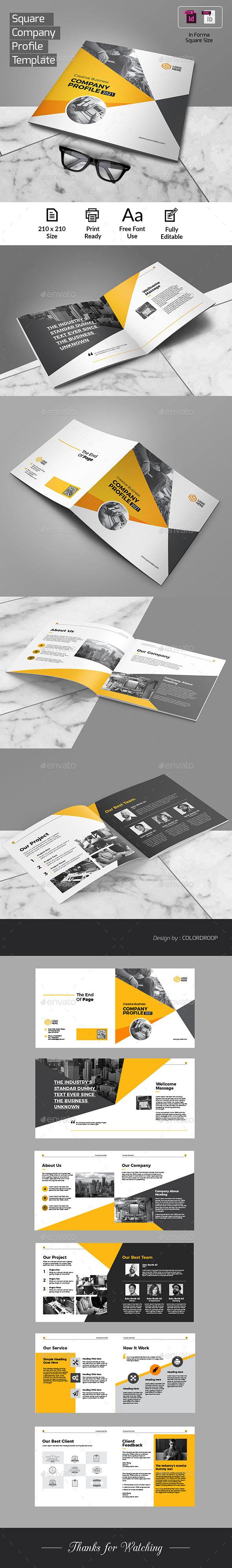 Square Company Profile - Corporate Brochures