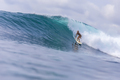 Surfer girl on a wave,Bali,Indonesia - PhotoDune Item for Sale